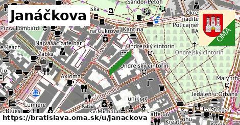 Janáčkova, Bratislava
