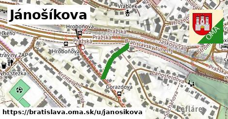 Jánošíkova, Bratislava