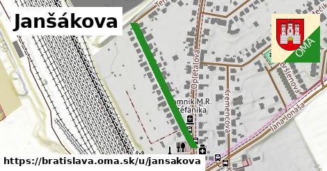 Janšákova, Bratislava