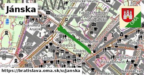 Jánska, Bratislava