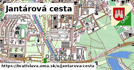 Jantárová cesta, Bratislava