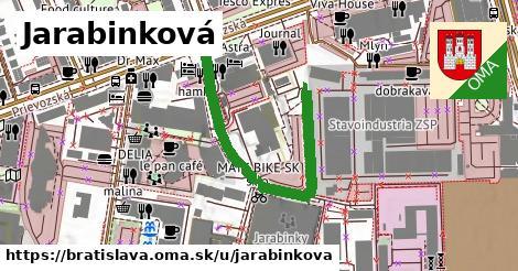 Jarabinková, Bratislava