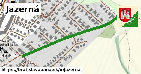 Jazerná, Bratislava