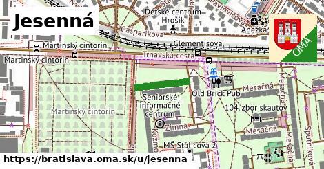 Jesenná, Bratislava