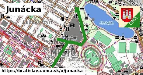 Junácka, Bratislava