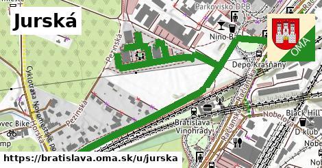 Jurská, Bratislava