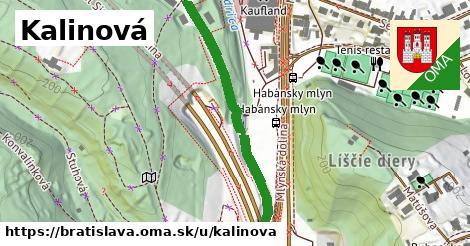 ilustrácia k Kalinová, Bratislava - 447m