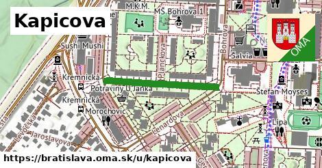 Kapicova, Bratislava