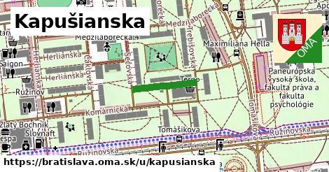 Kapušianska, Bratislava