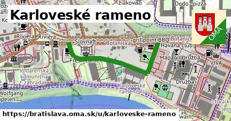 Karloveské rameno, Bratislava