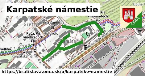 Karpatské námestie, Bratislava