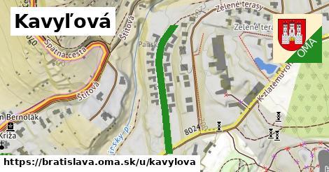 Kavyľová, Bratislava