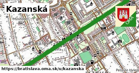 Kazanská, Bratislava