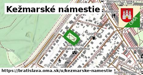 Kežmarské námestie, Bratislava