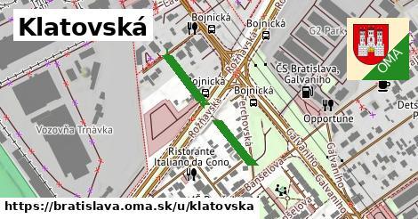 Klatovská, Bratislava