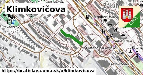 Klimkovičova, Bratislava