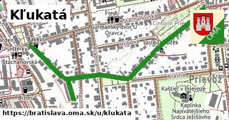 Kľukatá, Bratislava