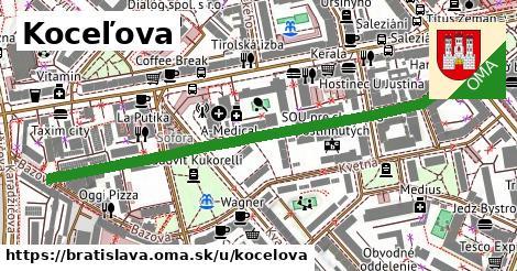 ilustrácia k Koceľova, Bratislava - 637m
