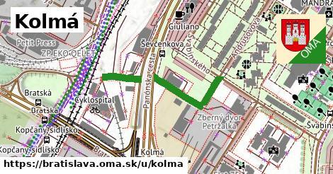 Kolmá, Bratislava