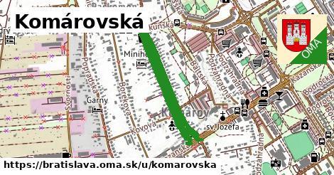 Komárovská, Bratislava