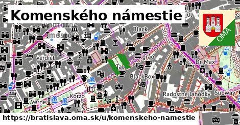 Komenského námestie, Bratislava
