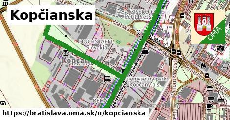 ilustrácia k Kopčianska, Bratislava - 3,3km