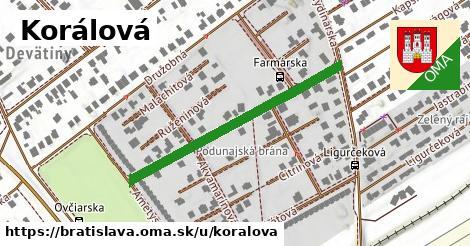 Koralová, Bratislava