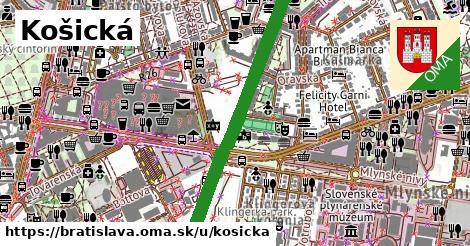 Košická, Bratislava