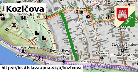 Kozičova, Bratislava