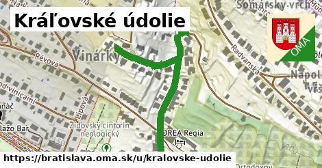 Kráľovské údolie, Bratislava
