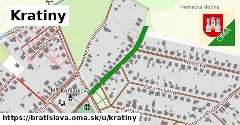 Kratiny, Bratislava
