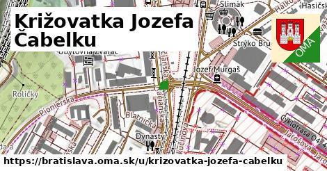 Križovatka Jozefa Čabelku, Bratislava