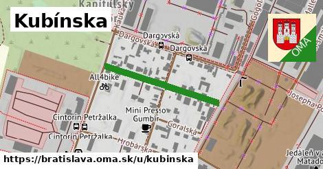 Kubínska, Bratislava