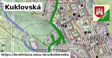 Kuklovská, Bratislava