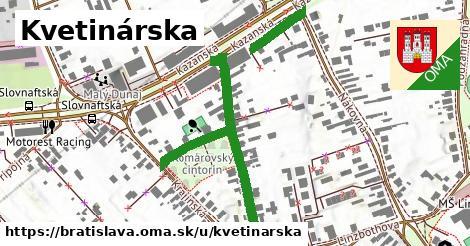 Kvetinárska, Bratislava