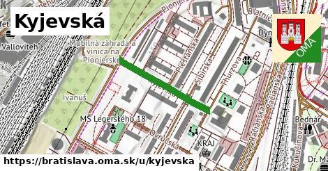 ilustrácia k Kyjevská, Bratislava - 236m