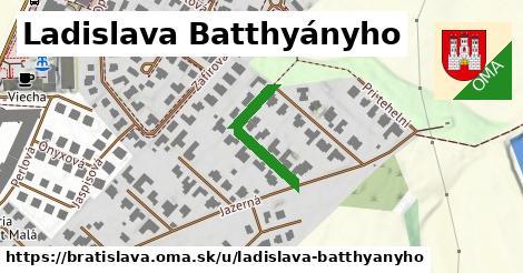 Ladislava Batthyányho, Bratislava