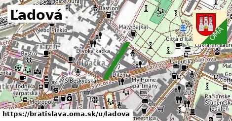ilustrácia k Ľadová, Bratislava - 142m