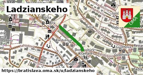 Ladzianskeho, Bratislava