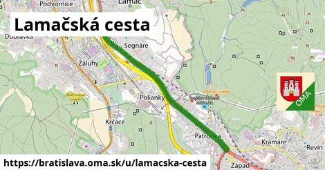 ilustrácia k Lamačská cesta, Bratislava - 6,0km