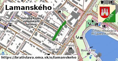 Lamanského, Bratislava