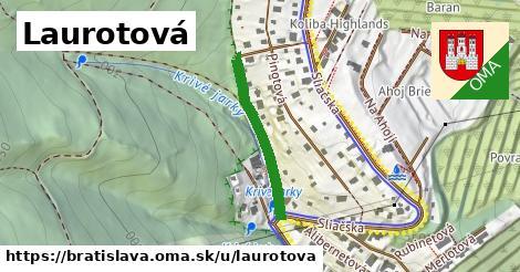 Laurotová, Bratislava