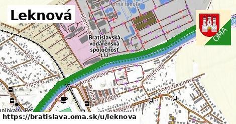 Leknová, Bratislava