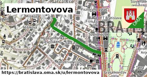 Lermontovova, Bratislava
