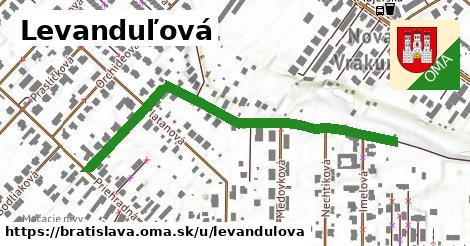 Levanduľová, Bratislava