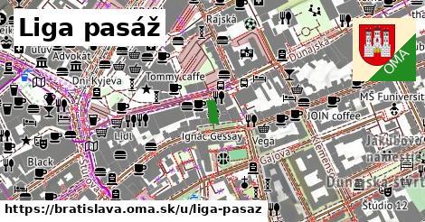 Liga pasáž, Bratislava