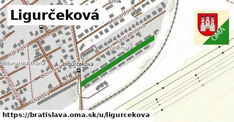 Ligurčeková, Bratislava