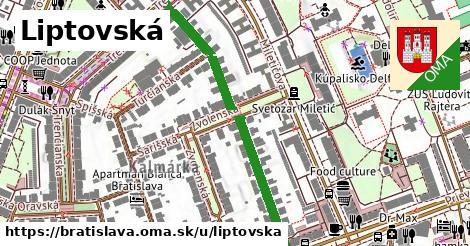 Liptovská, Bratislava