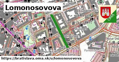 ilustrácia k Lomonosovova, Bratislava - 234m