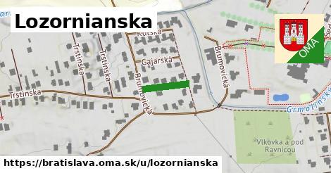 Lozornianska, Bratislava